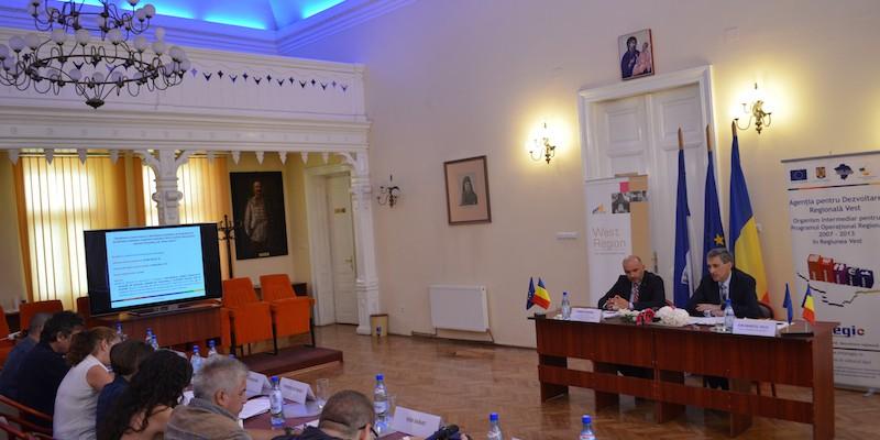 Semnare contract de finantare nerambursabila Regio-POR_Caransebes_2 septembrie 2013