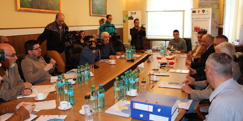 Semnare contract de finantare nerambursabila Regio-POR_Hunedoara_10 aprilie 2015