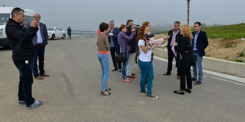 Turul cu reprezentantii mass-media la proiecte finantate prin Regio-POR_Judetul Caras-Severin_30 mai 2014