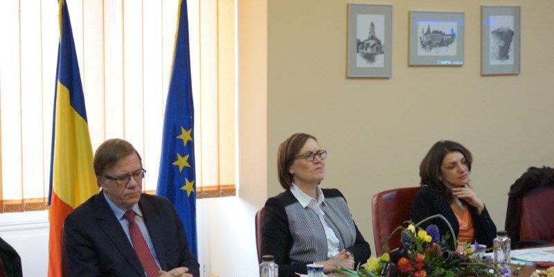 Vizita doamnei ambasador Tove Bruvik Westberg – Norvgia_19.02.2015