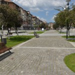 Zona pietonala Petrosani_Primaria Petrosani